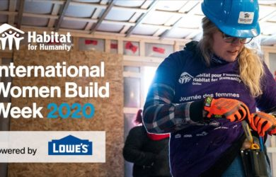 Picture for International Women build week